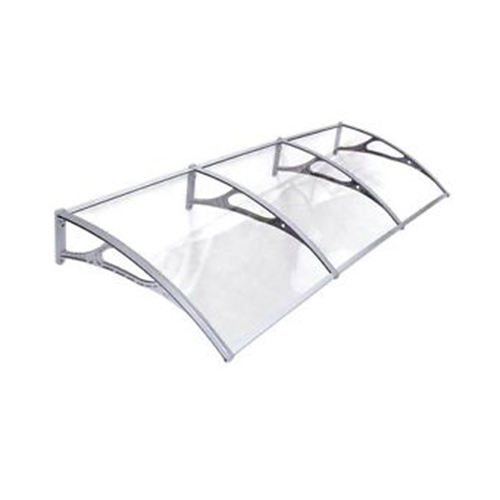 1000x1200mm plastic awnings solid polycarbonate roof sheet window door canopy rain sun shelter