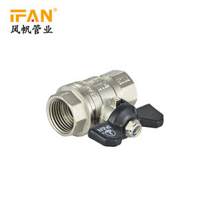 PN25 Factory Supplier OEM Brass Ball Valve Pressure Control Valve Butterfly Hand Gas Safety Water Ball Valve