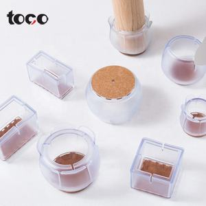 toco Silicone Rubber Furniture Table Chair Leg Caps Floor Protectors
