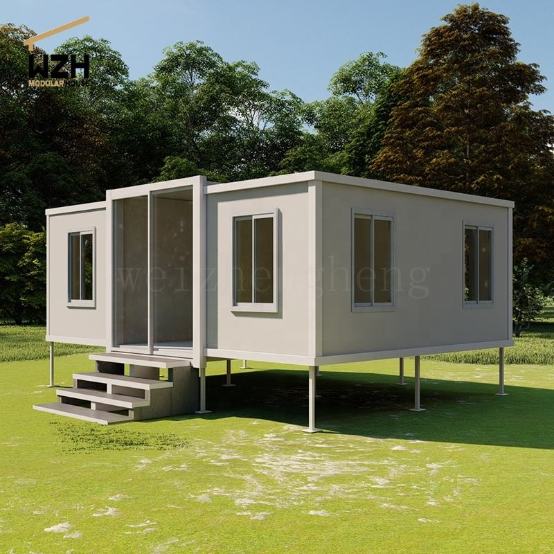 Prefabricated Modular Shipping Container House Hotel