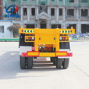 3 trục 40ft cổ ngỗng skeleton container trailer bán xe tải cho bán
