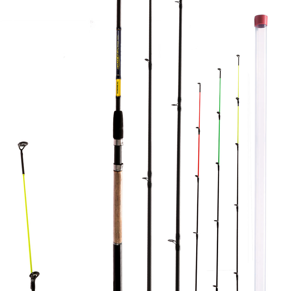 HONOREAL black T LTS ring guides rods carbon fiber feeder fishing