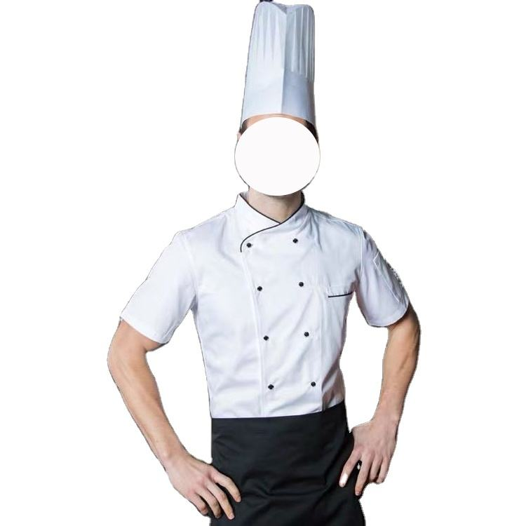 China fashion colorful design uniforme chef custom hotel uniforms black long sleeve chef