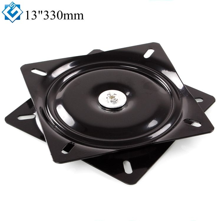 Factory Wholesale Lazy Susan 360 Degree Rotating 13 Inch Metal Ball Bearing Rotating Table Swivel Plate TV Rack Desk Turntable