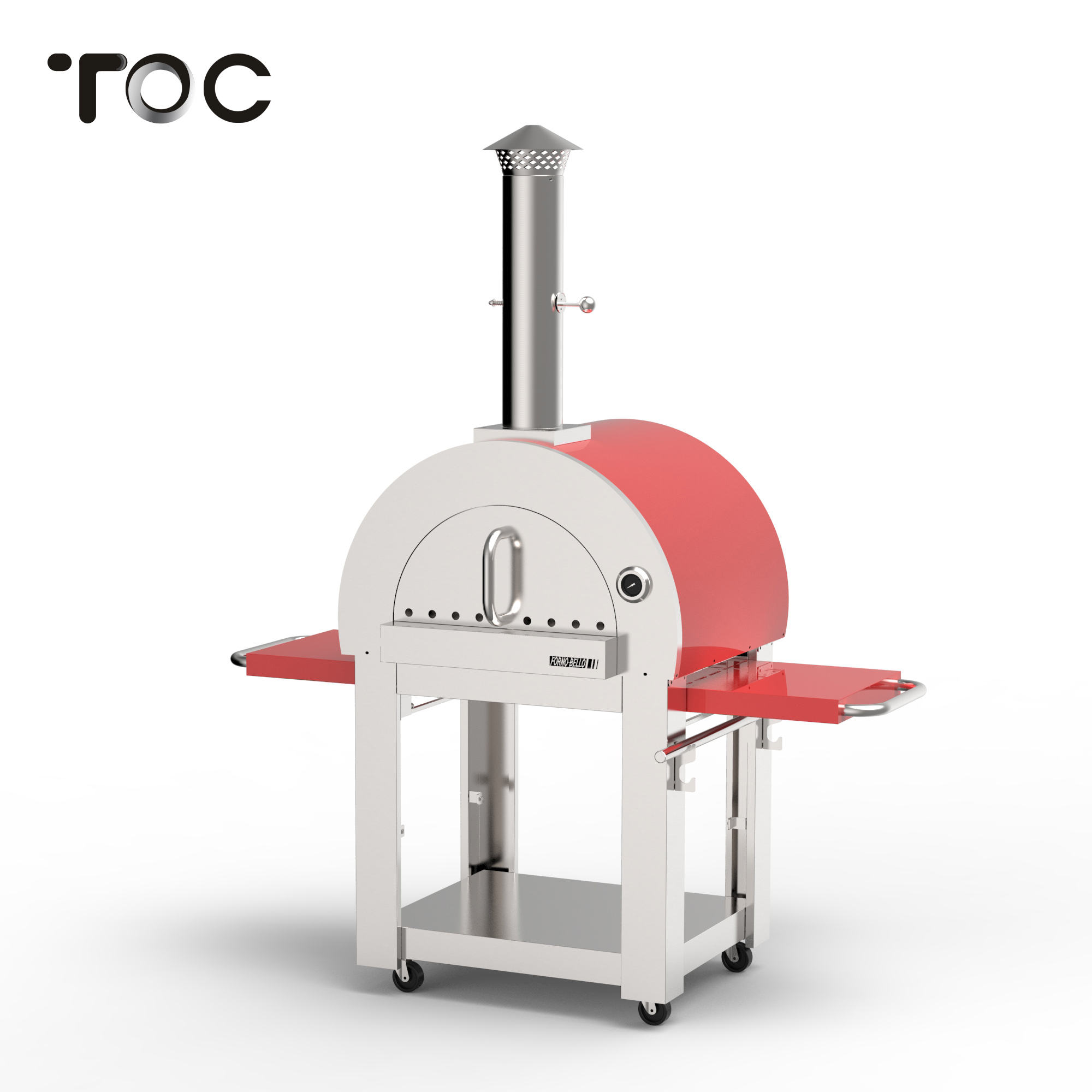 Modern High Quality wood pizza oven
