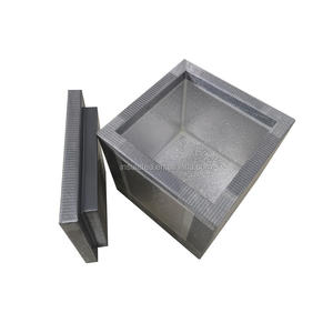 excellent vacuum seal aluminum foil hot cold heat insulated box apply for global sea fish traffic cold chain box