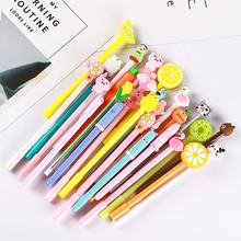 Promotional kids gift cute plastic unicorn kawaii cartoon gel pen for school