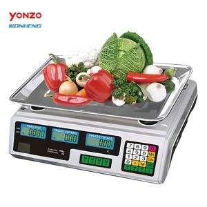 Good Reputation Durable Color Optional Popular 30kg/40kg 2/5g Electronic Weighing Digital Scale