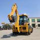 CE approved small wheel backhoe loader mini backhoe loader