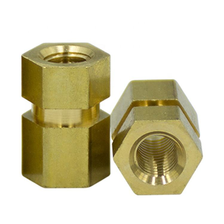 2019 Most Popular Cold Forming Insert Threading No Rust hex head Brass Nut