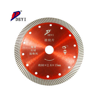 125mm turbo wave cutting blade 5 inch diamond saw blade for bricks granite marble concrete