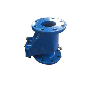 Quality assured ductile iron slient swing check valve