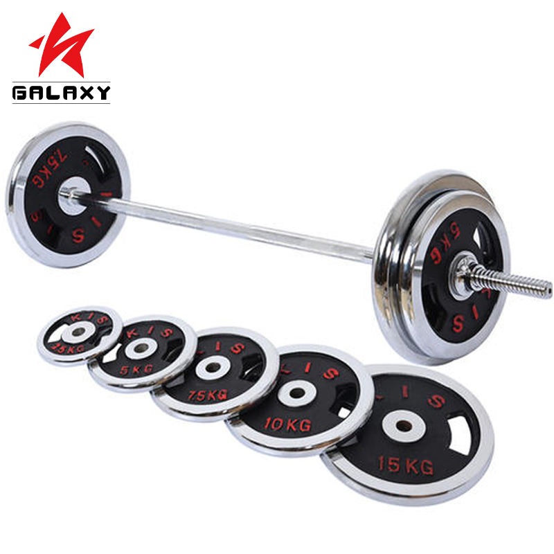 Mancuernas de gym dumbbell set weight 1 set axis chrome york pesas barbells