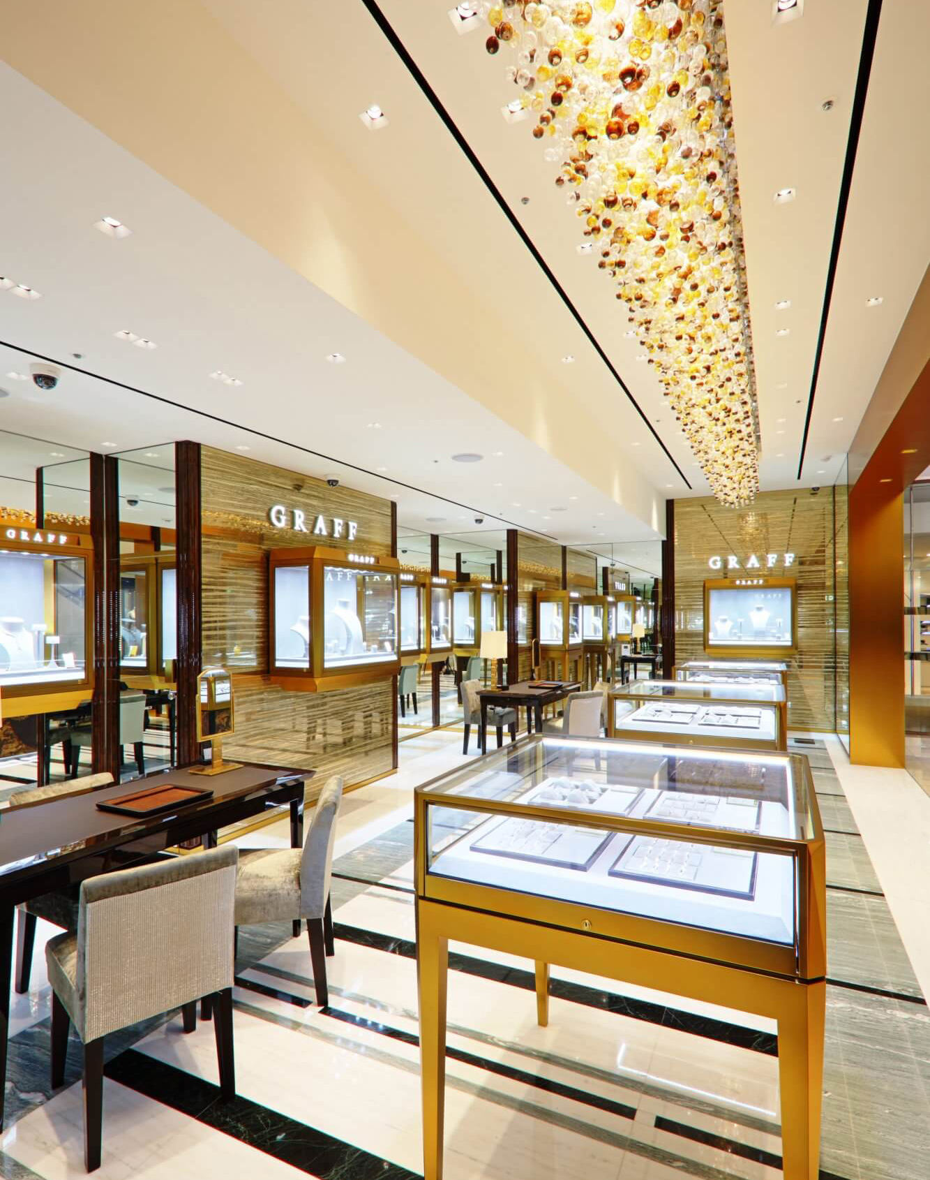 Top fashion jewelry display cabinet glass top jewelry shop Jewelry showcase furniture for shop