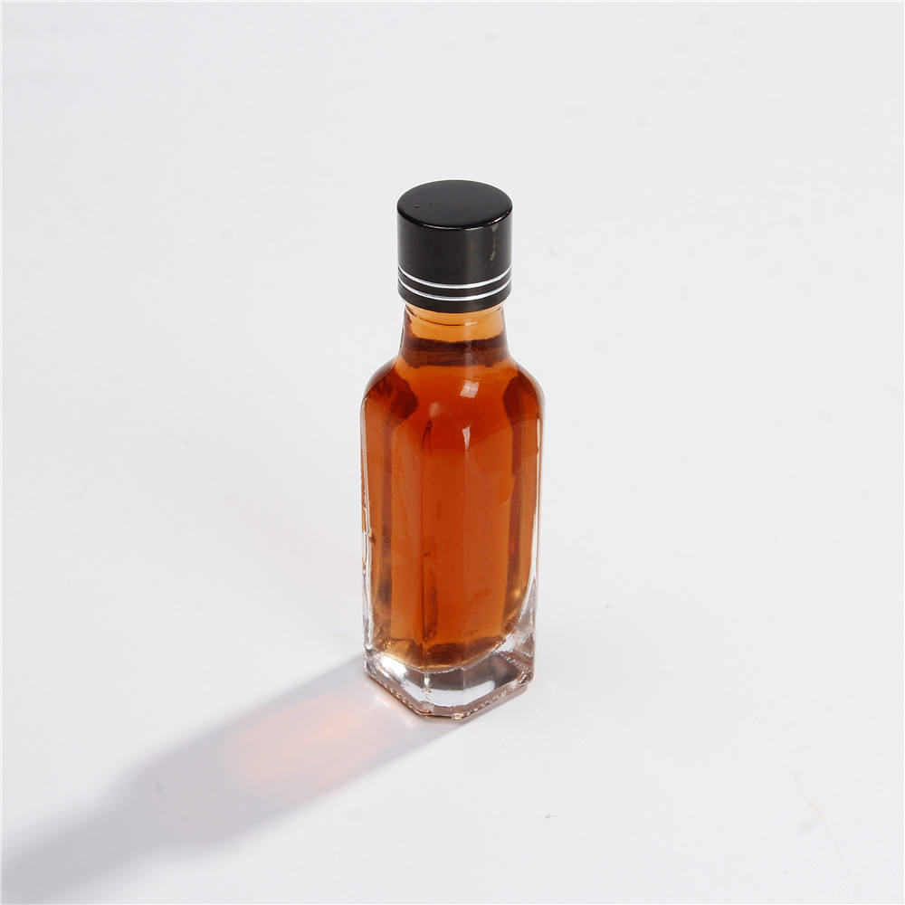 Small Perfect Drink Mini 50ml XO Whisky Bottles With Aluminum Cap For Liquor Gin Whisky Cocktail Wine Vodka