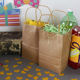 Paper Bag Paper Bag Custom Your Own Logo Size Color Cheap Food Take Away Bown Kraft Paper Bag With Handle