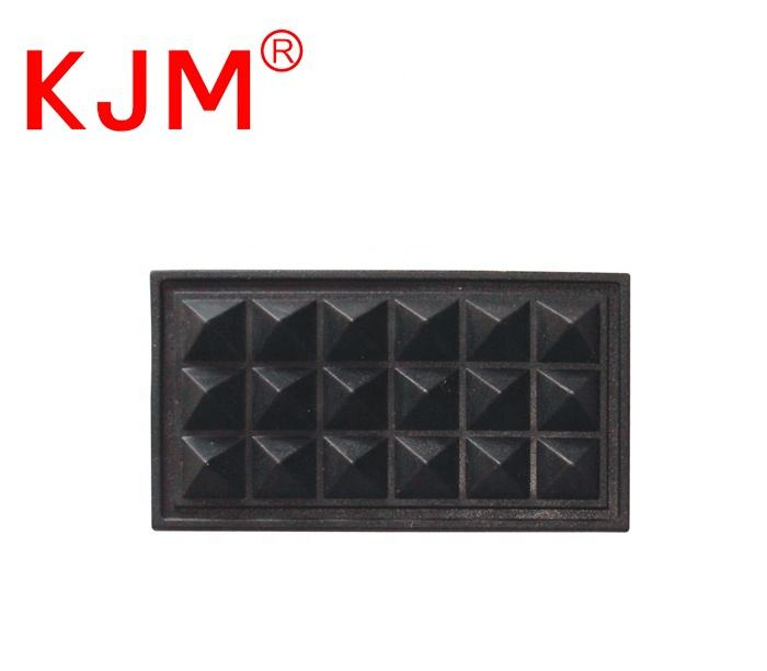 KJM Wholesale Plastic Bottom Feet Care Pad Luggage Base Protector for Backpack