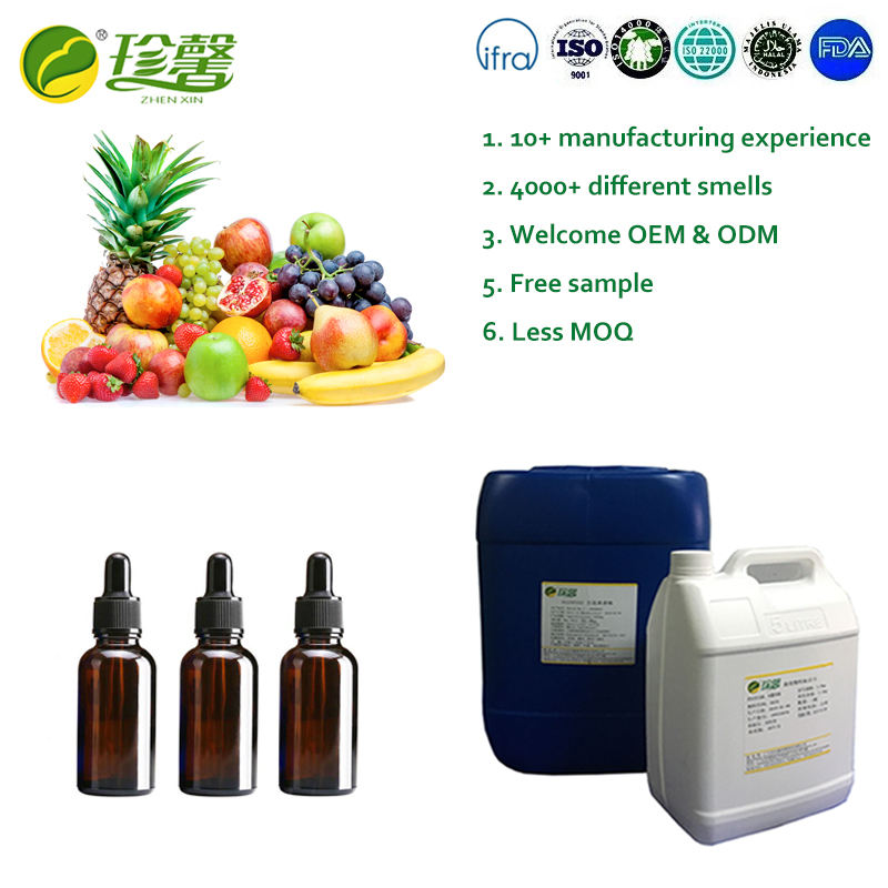 Fruit essence oil nature flavor lemon flavor concentrate