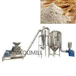 Industrial rice husk pulverizer rice husk grinding mill