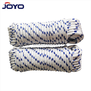 2mm 3mm 5mm hollow braid double braided polyester rope