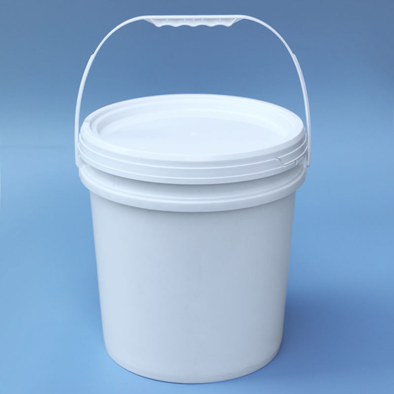 20L Plastic Bucket Pail With Lid And Handle For Pickle Barrel