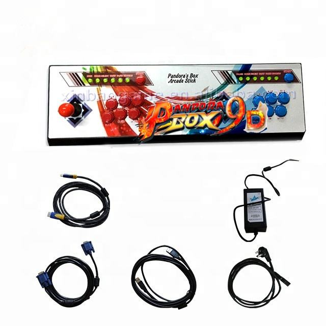 2500 in 1 games Pandoras box 9D joystick console arcade coin operated games