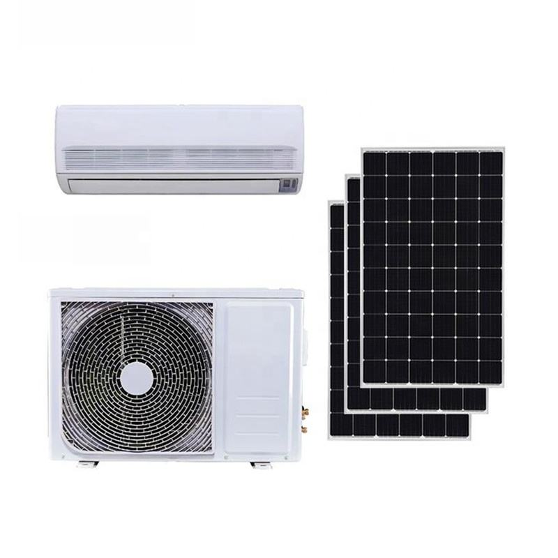 JNTECH Wholesale High Quality ACDC Solar Air Conditioner Hybrid 12000Btu Easy Installation for Home Use