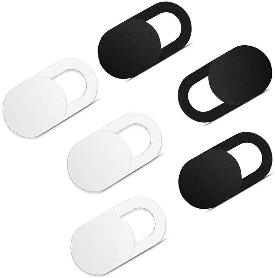 Ultra thin Plastic reusable Privacy camera cover shield sliding sticker webcam cover