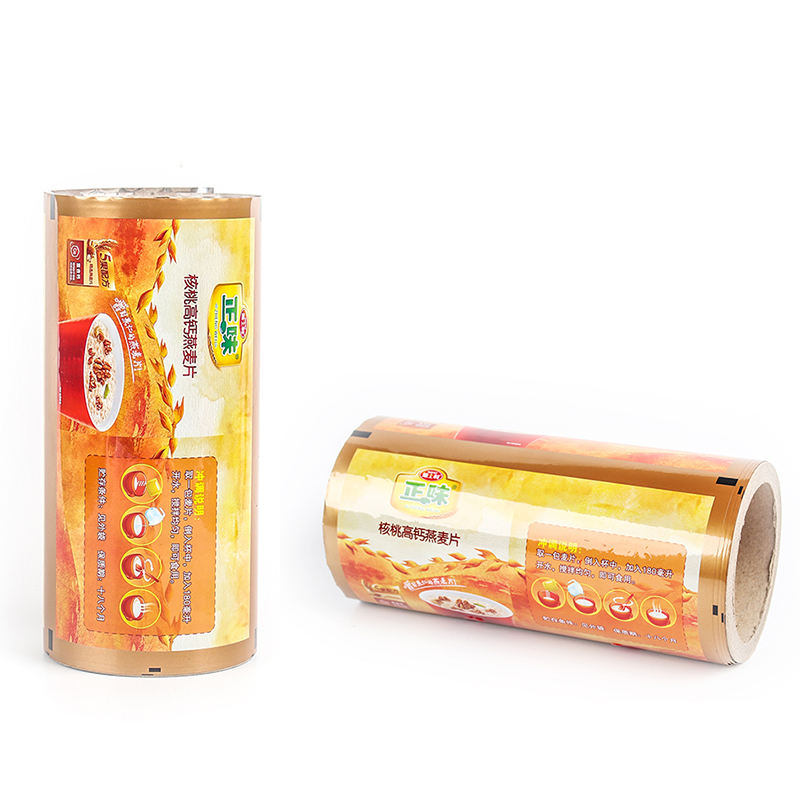 Manufacture Food Packaging Plastic Metalized Mylar Aluminum Roll Film for Packing