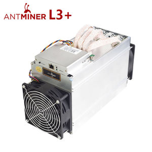 Rumax 800W 504Mh/s Used Miner Bitmain Antminer L3+ with PSU Second Hand Miner L3+ Scrypt Miner