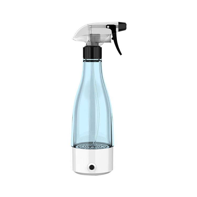 Handmade portable Sodium hypochlorite water generator bottle sprayer machine for cleaning