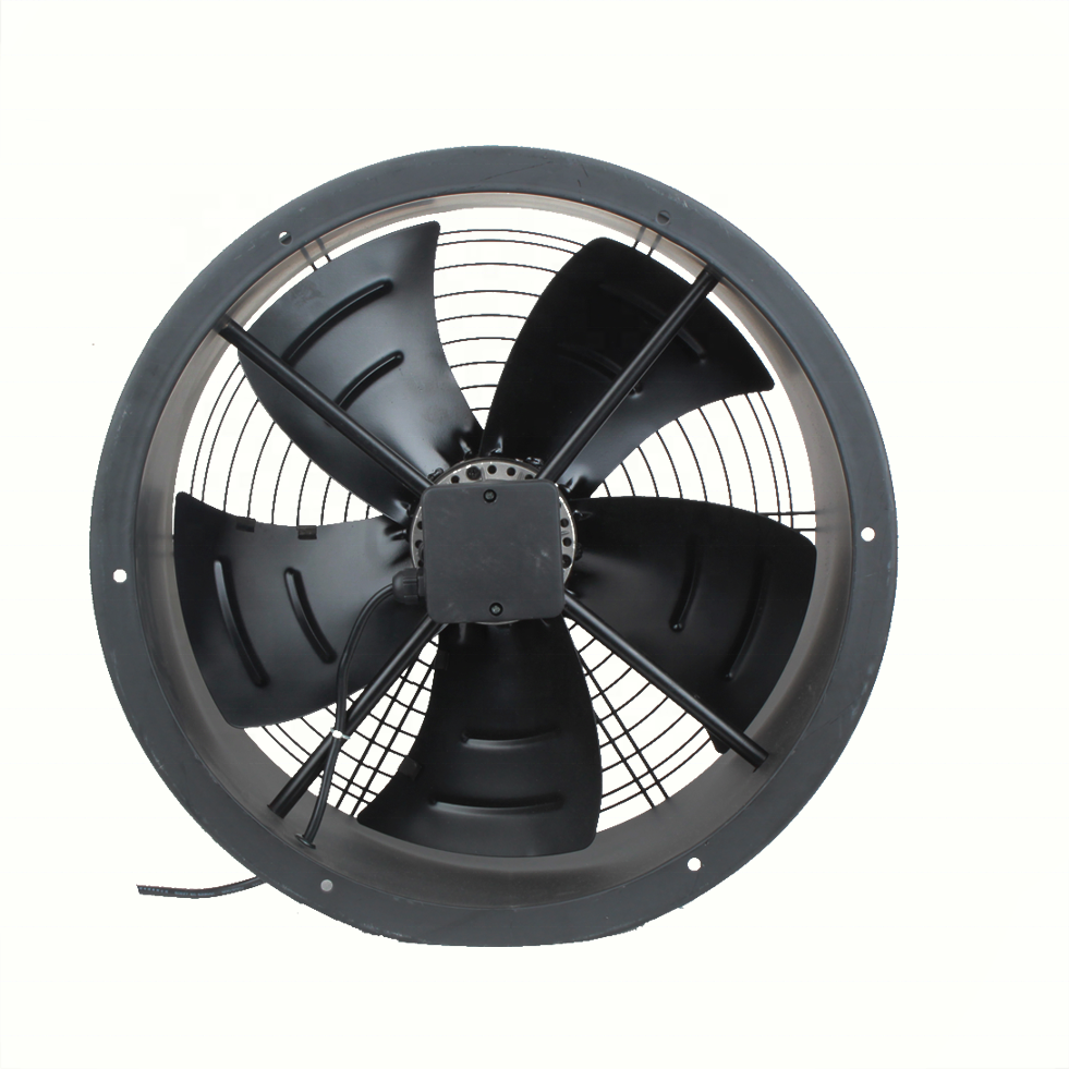 910mm 6 poles S wind direction Large Metal Axial industrial ventilation exhaust fans for cement industry