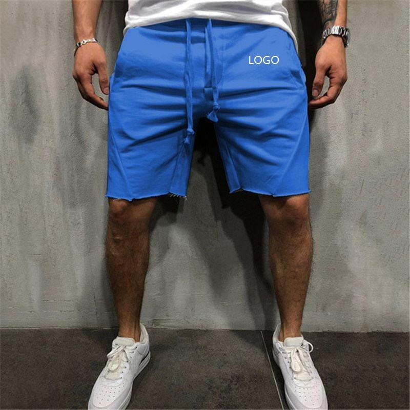 Spot Supply Hot Sale Sommer Outdoor Sport Laufen Fitness Männer Strand urlaub Kamel Elastic Draw string Board Shorts Männer