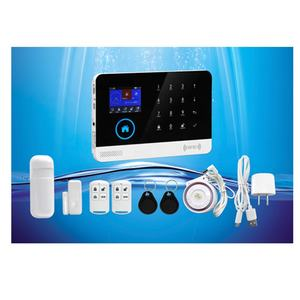 Newest Smart Home Alarm WIFI+GSM Security Alarm System with LCD Display