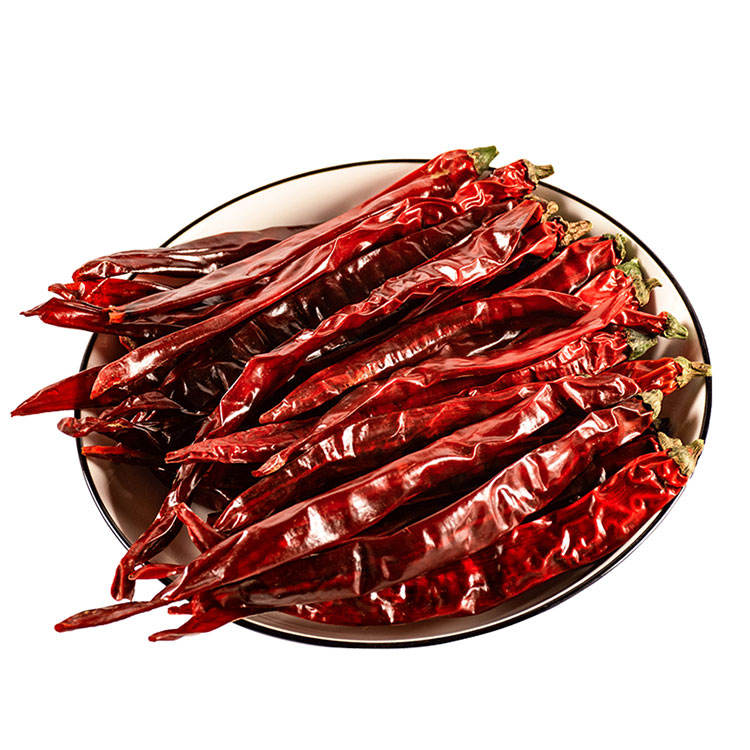 Guochen Red GC1097 Dry red erjingtiao chilli pepper New Crop Spicy Flavour long sweet chilli