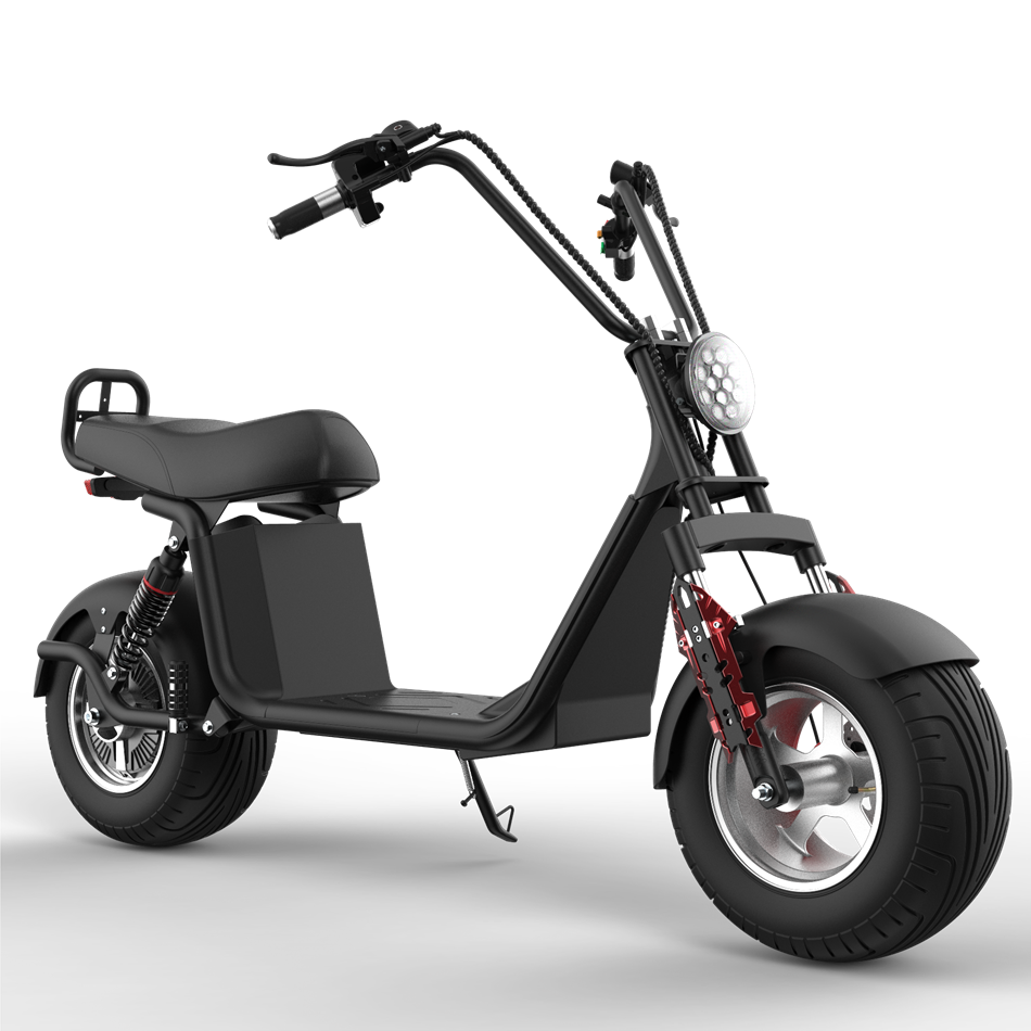 EEC COC European Warehouse Stock Citycoco 1000w 1500w Fat Tire Electric Scooter with EEC
