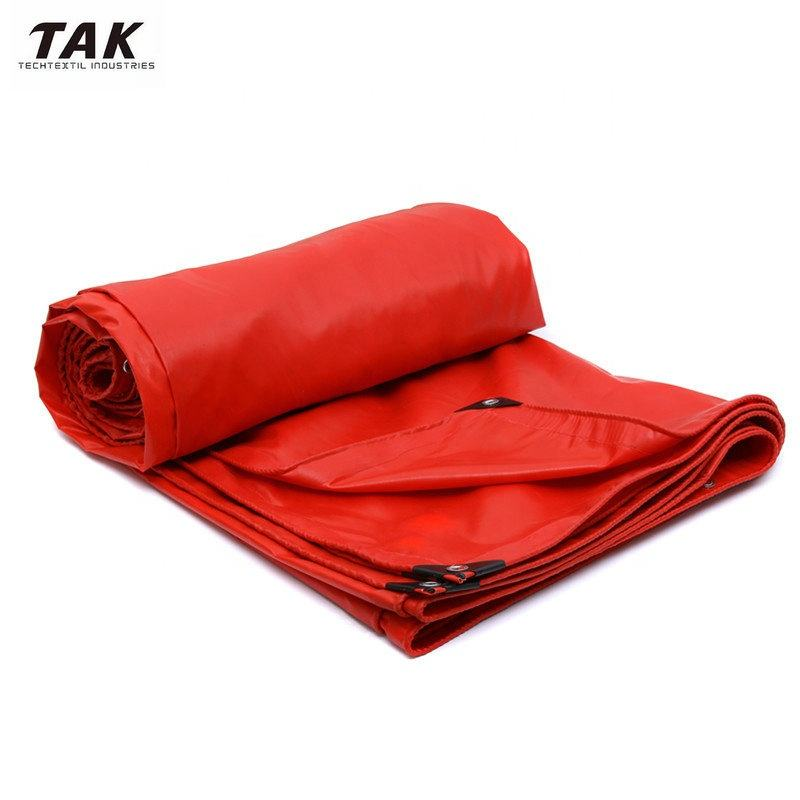 Waterproof Lona PVC Canvas Material Tarpaulin for Truck Roofing Cover