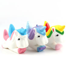 Amazon kawaii scented slow rising squeeze Pegasus squishies stress relief toys