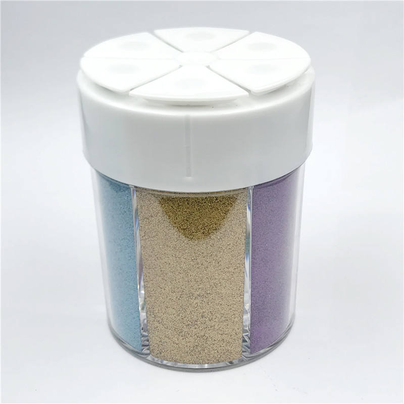 Wholesale Xucai Extra Fine Loose Glitter Ultra Fine Dust Nail Pigment Glitter Bottle 1/2/3 OZ Pot Bottle Pack Glitter