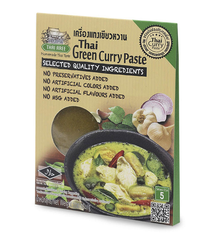 Thai Green Curry Paste (Sachet)