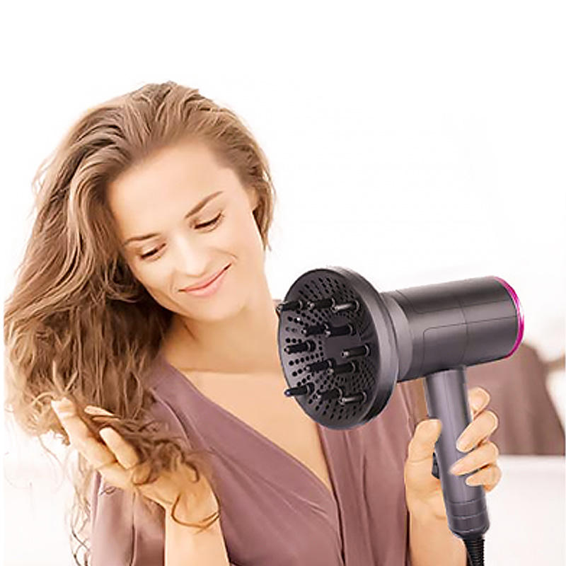 Hair Dryer Nano Ionic Blow Dryer Professional Salon Hair Blow Dryer Lightweight Fast Dry Low Noise with Concentrator