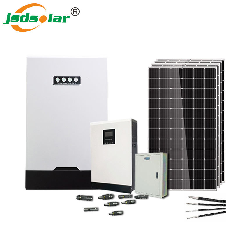 Jinsdon 5kw 15kw 25kw Solarpanels ystem Preis 10kw 20kw 30kw Power Wall Solaranlage Home Commerce Industrie verwenden