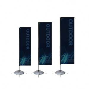 Portable Flag Pole Base Outdoor Flags Banner Stand Pole Telescopic Flagpole Manufacturer