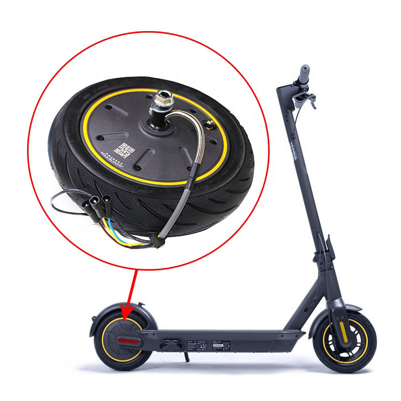 Original Max G30 scooter 350W Wheel Hub Motor accessories Wheel with tyre Motor Parts skateboard front wheel spare parts