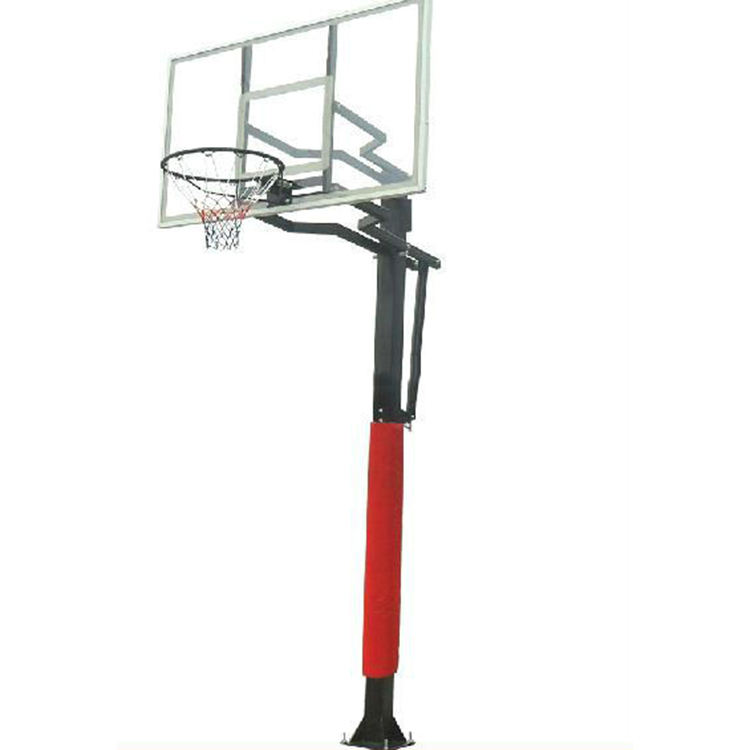 Excellent quality low price Inground adjustable basketball hoops/stand