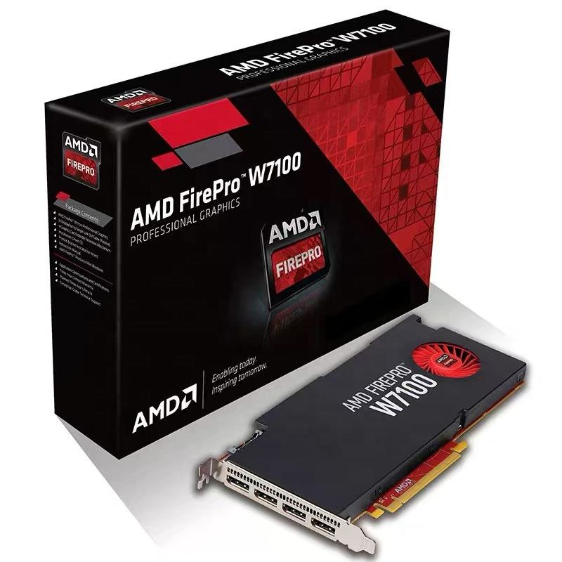 FirePro W7100 8GB GDDR5 256bit PCI-Express3.0 Video <span class=keywords><strong>Kartu</strong></span> 100-505724