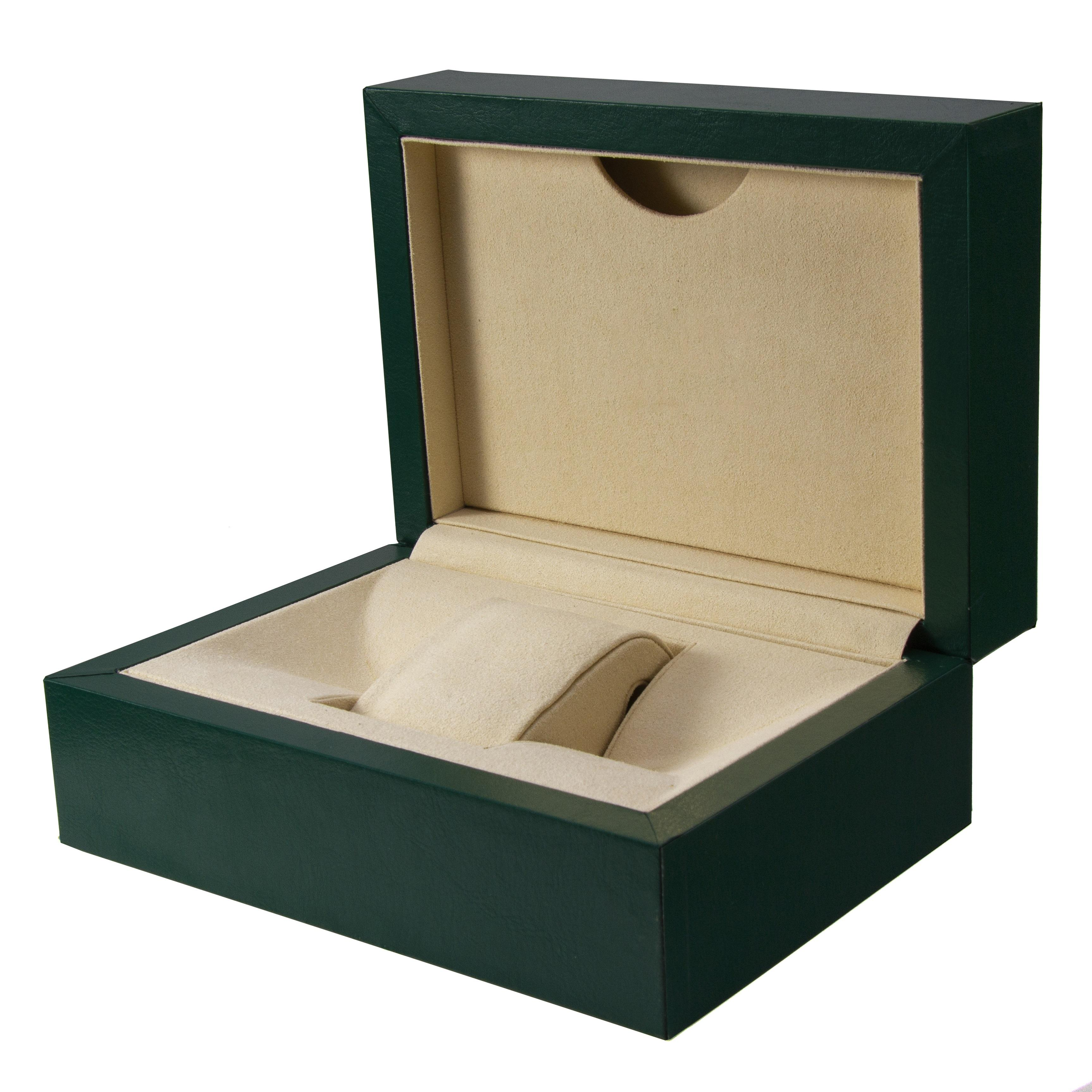 High Quality Watch Packaging Storage Box Wood Green Watch Box With Logo Wood Case