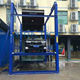Hydraulic 4 post car lift for underground parking