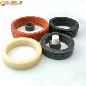 NBR v ring seal for pupm FKM with fabric V packing ring for high pressure pump seal