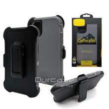 Original brand belt clip holster phone cover for iphone 11 Pro max protective shockproof defender phone case with original LOGO